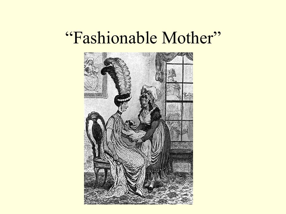 Fashionable Mother