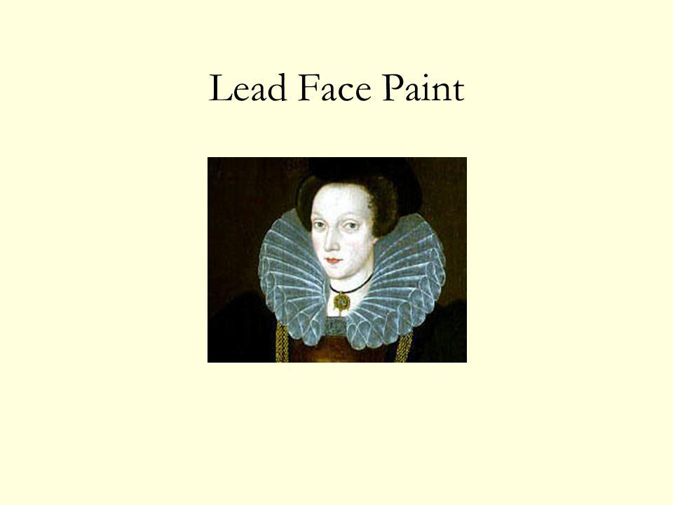 Lead Face Paint