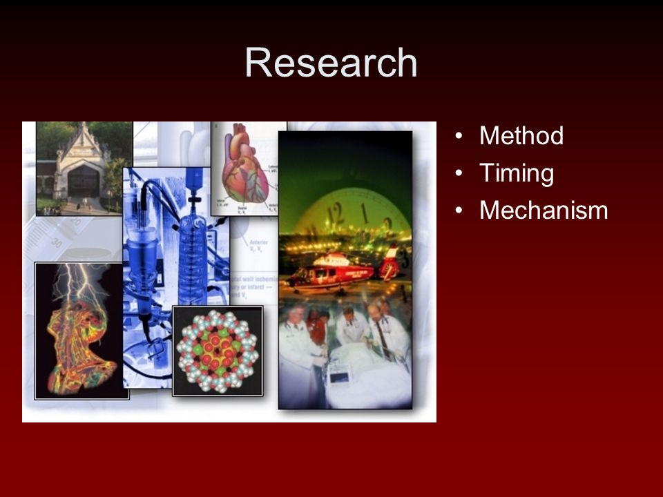 Research Method Timing Mechanism
