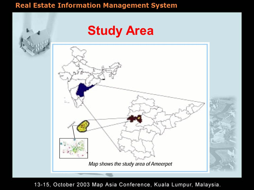 Study Area Real Estate Information Management System