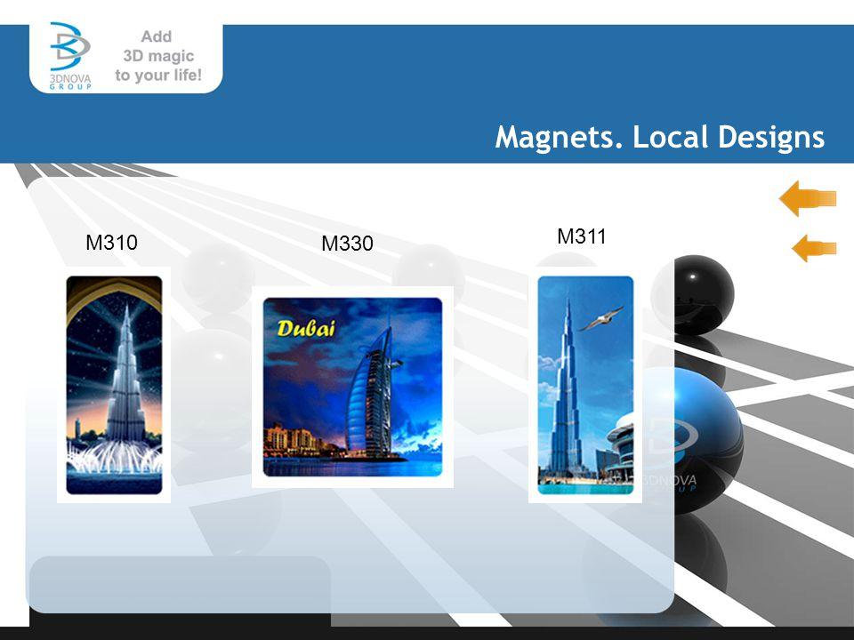 Magnets. Local Designs M310 M330 M311