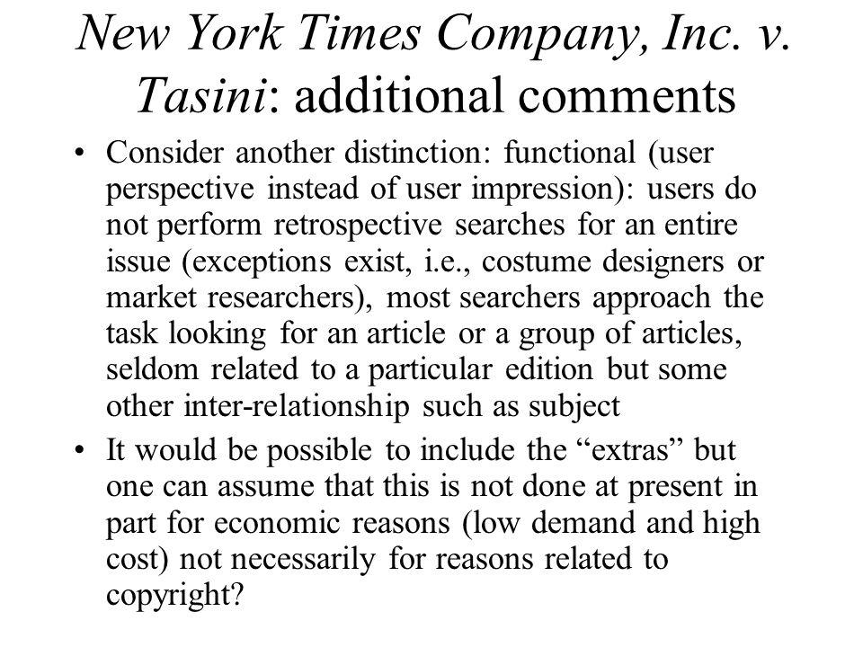 New York Times Company, Inc. v.
