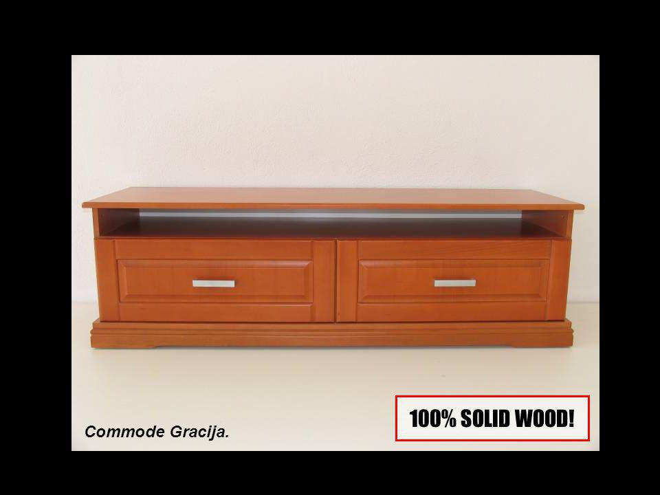 Commode Gracija. 100% SOLID WOOD!