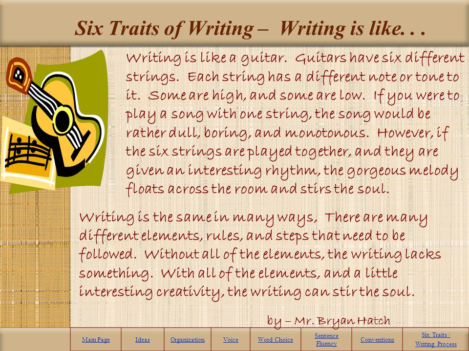 The Diary of a Young Girl – Anne Frank Main PageIdeasOrganizationVoiceWord Choice Sentence Fluency Conventions Six Traits / Writing Process 1.In a small group or on your own, read and react to the selection from The Diary of a Young Girl – by Anne Frank.