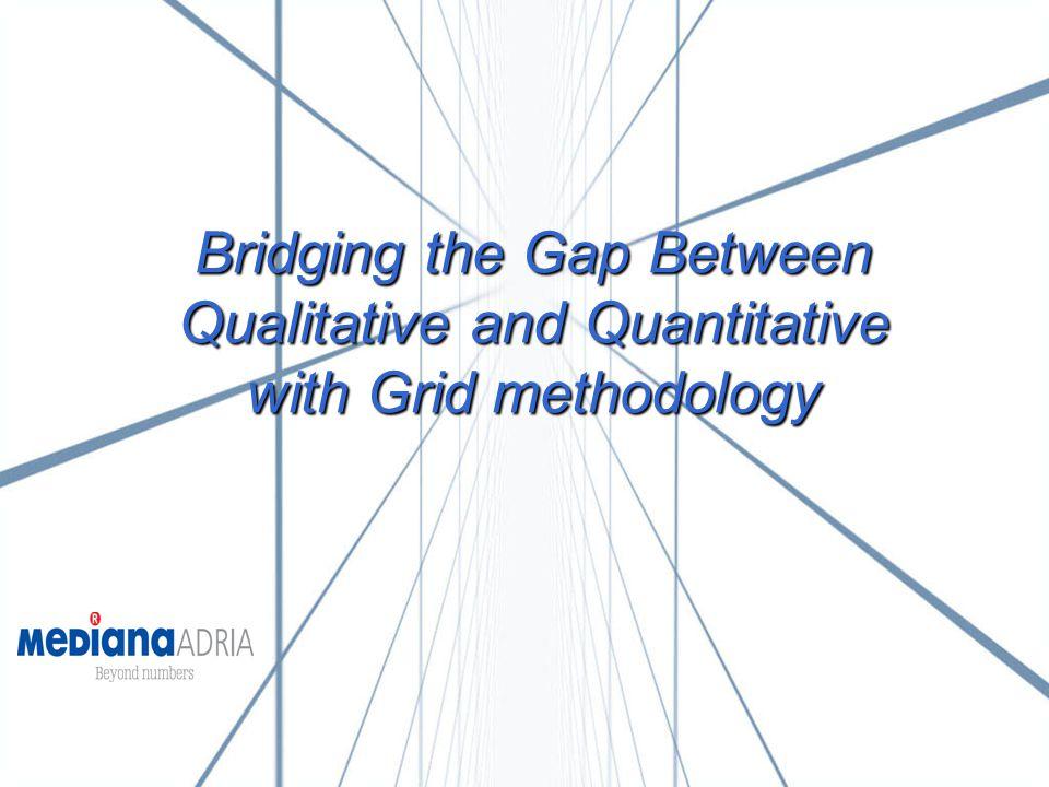 Bridging the Gap Between Qualitative and Quantitative with Grid methodology