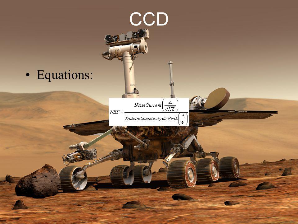 CCD Equations: