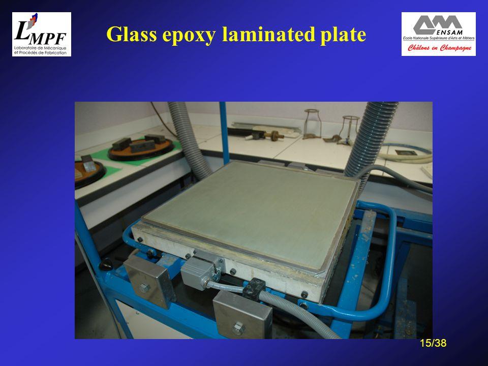 15/38 Glass epoxy laminated plate