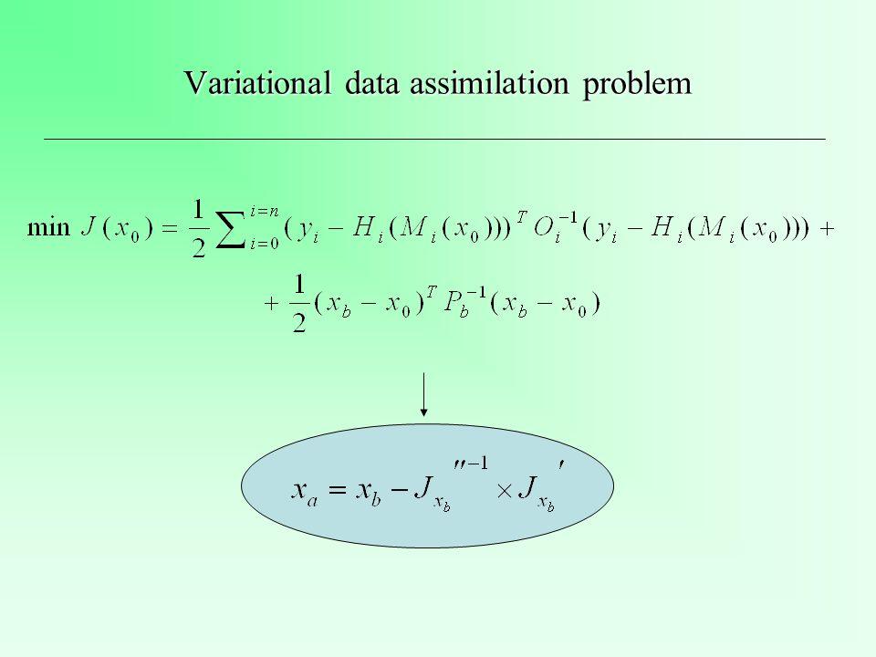 Adaptive assimilation algorithm based on the Kalman filter