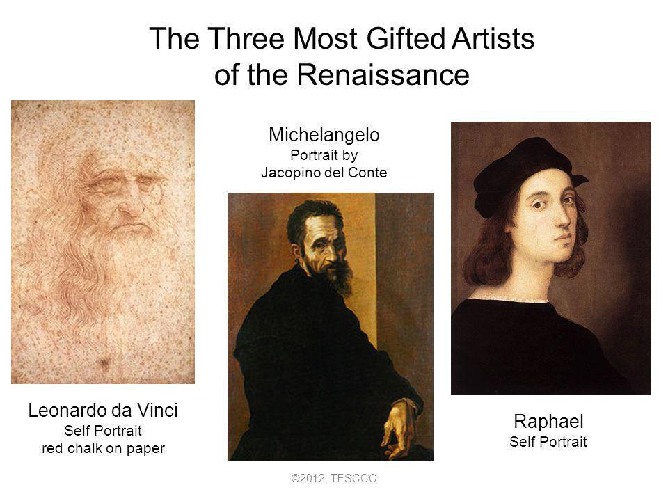 Leonardo da Vinci was Renaissance man interested in many different things.