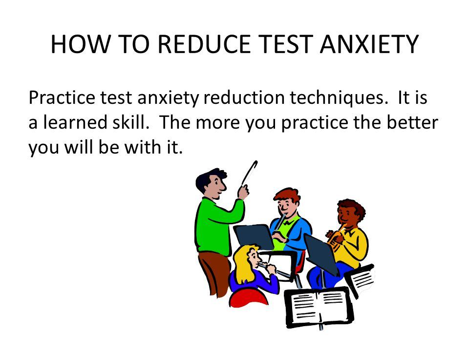 THE DIFFERENT TYPES OF TEST ANXIETY: 1.