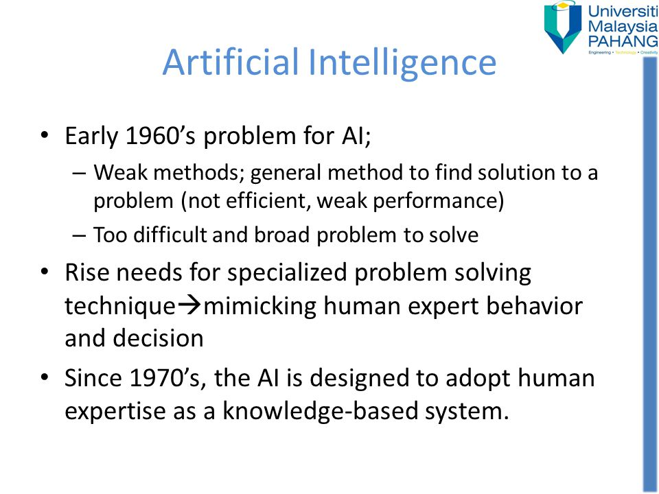 Comparison of expert systems with conventional systems and human experts (Continued)