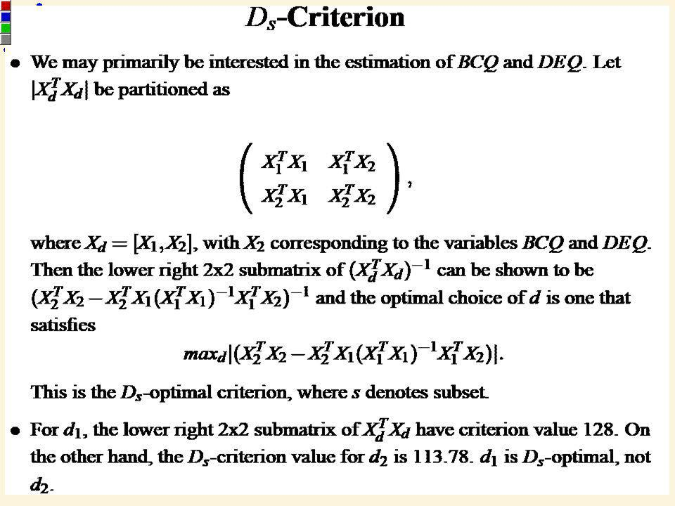 46 STA 536 – Fractional Factorial Experiments at Two Levels