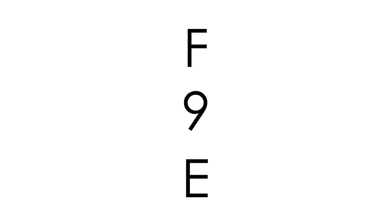 9 F E