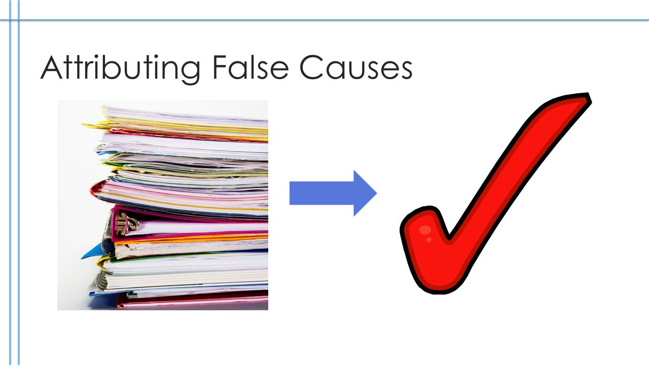 Attributing False Causes