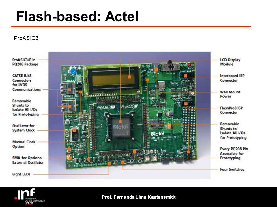 Prof. Fernanda Lima Kastensmidt Flash-based: Actel ProASIC3