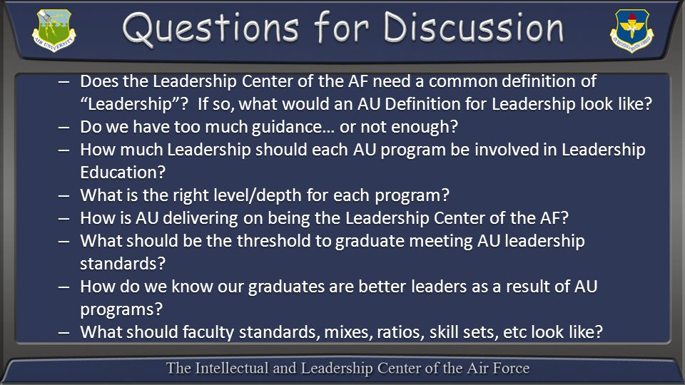 Leadership: What is It?