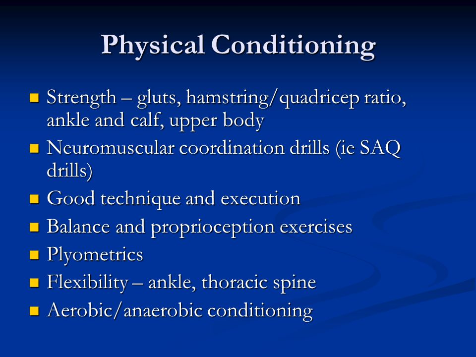 Training load SupercompensationNormal functioning level of the body Recovery of tissues and fuels after training session Fatigue, decrease in normal functioning level Adapted from NCCP Task #6 readings Perfect Too soon Too late Next workout.