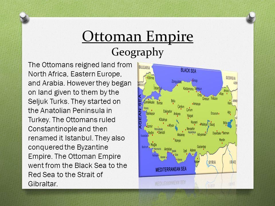 Ottoman Empire Religion The Ottomans were Sunni Muslims.