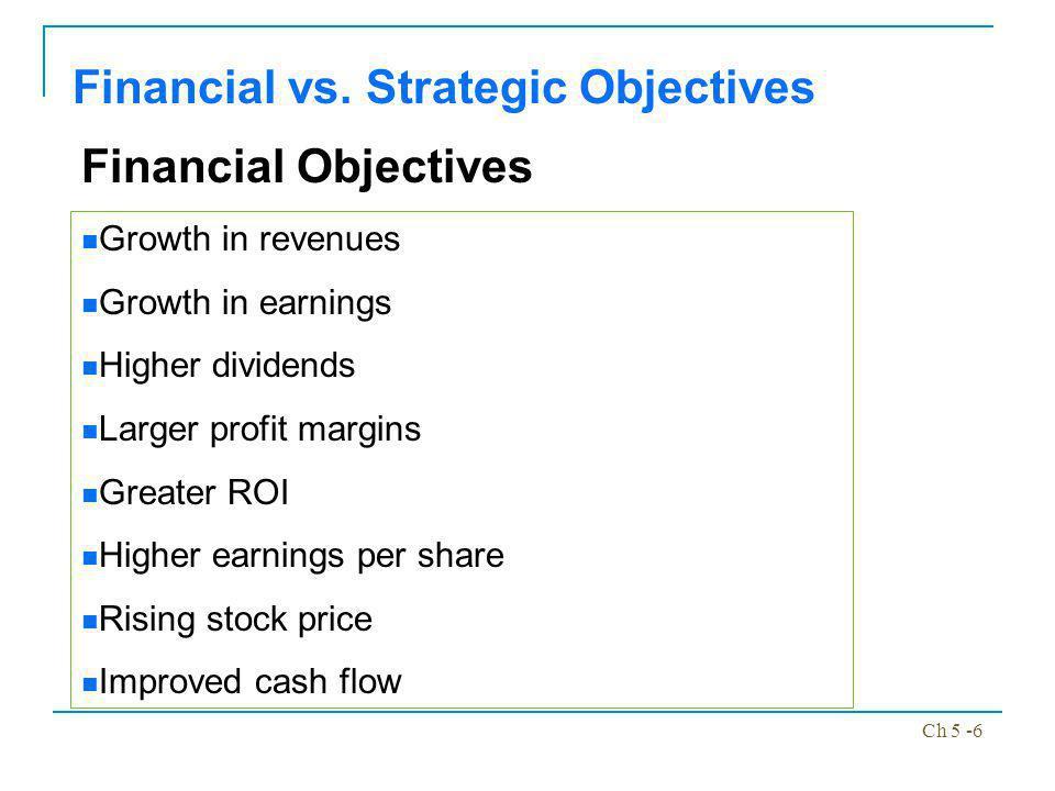 Ch 5 -7 Financial vs.