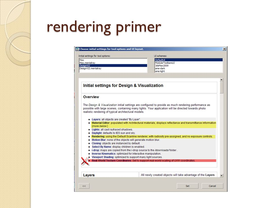 rendering primer