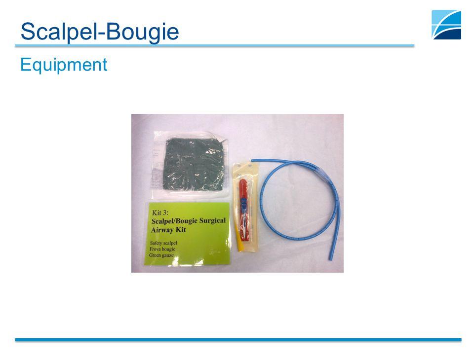 Scalpel-Bougie Equipment