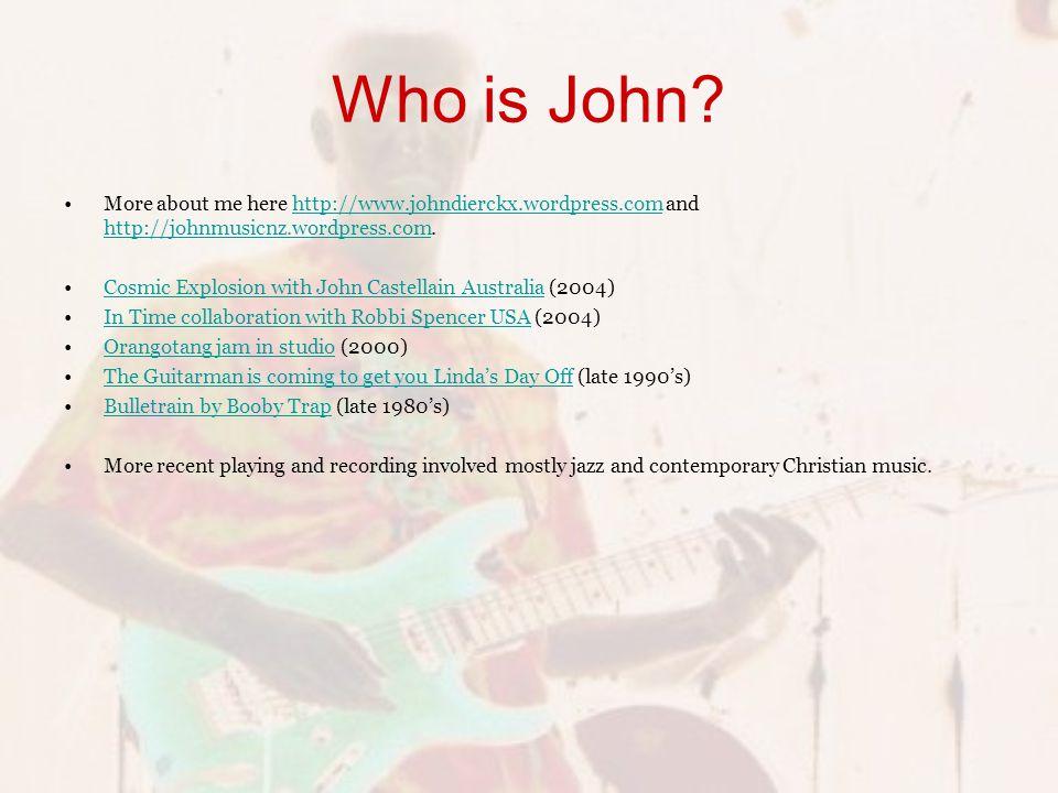 Who is John.