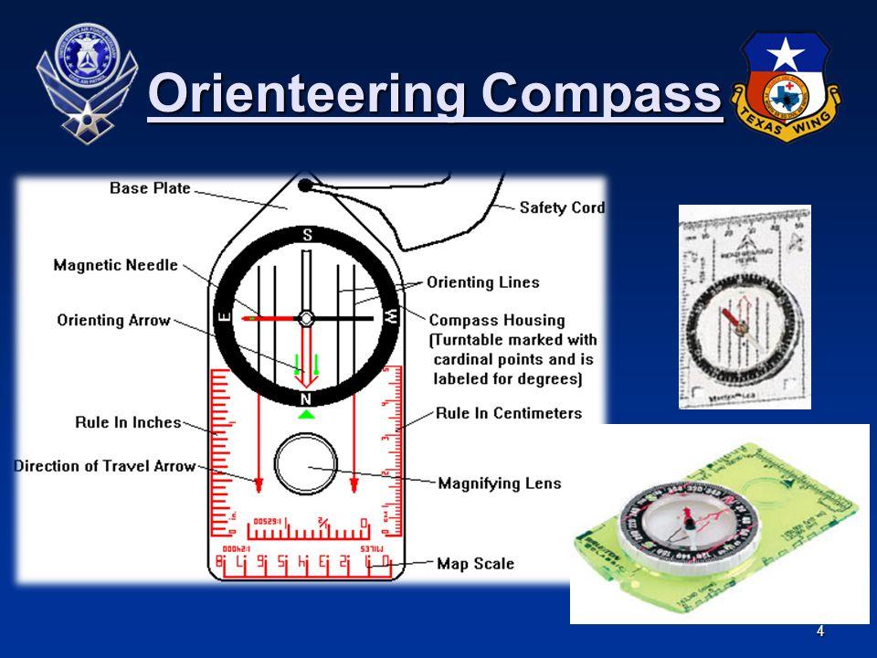 4 Orienteering Compass