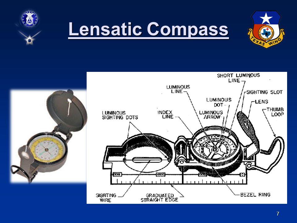 7 Lensatic Compass