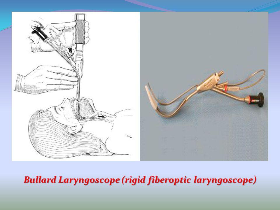 Bullard Laryngoscope (rigid fiberoptic laryngoscope)