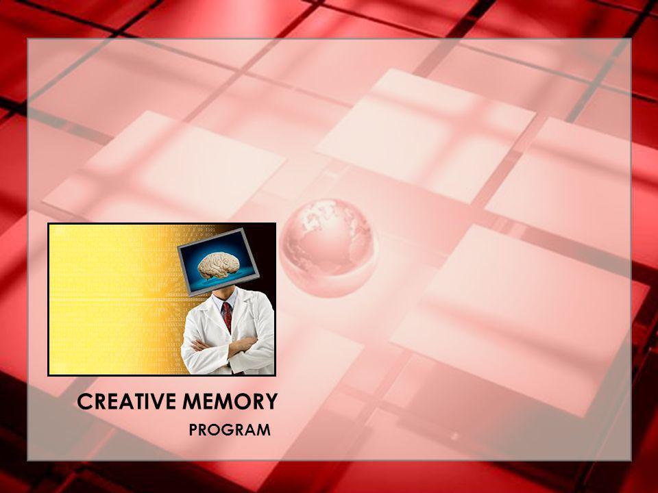 CREATIVE MEMORY PROGRAM