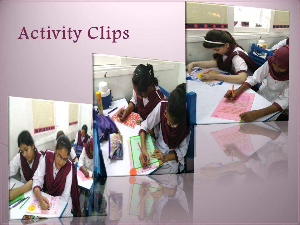 Activity Clips