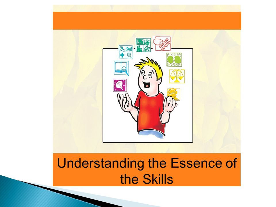 Understanding the Essence of the Skills
