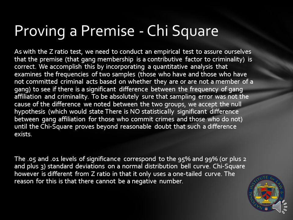 Chi-Square analysis differs from Z ratios in that Chi-Square does not use a standard measure.
