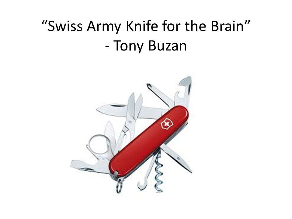 Swiss Army Knife for the Brain - Tony Buzan