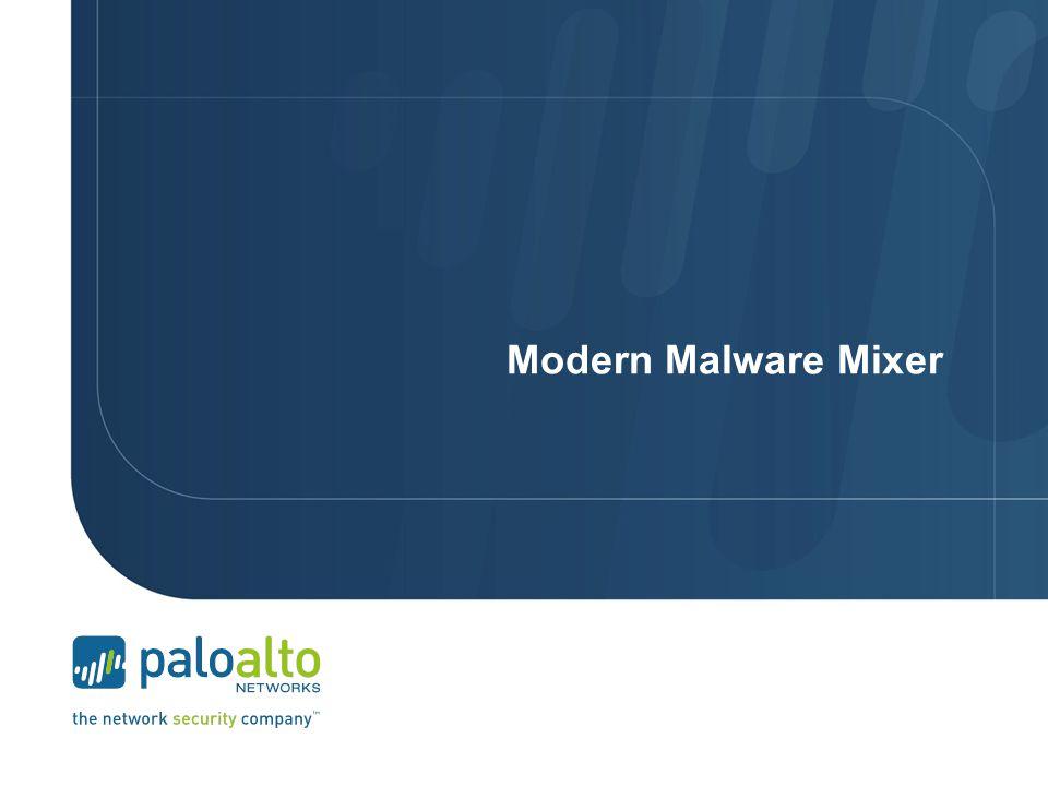 Modern Malware Mixer