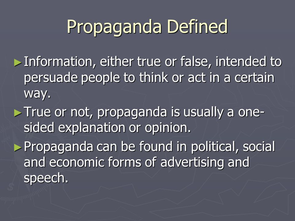 5 Propaganda Techniques Celebrity Testimonials Multiple Identities The Bandwagon Argument Name Calling Scare Tactics