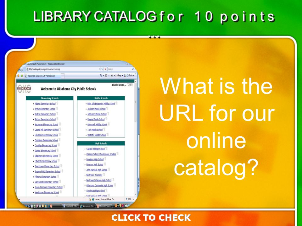 3:103:10 What is the URL for our online catalog.