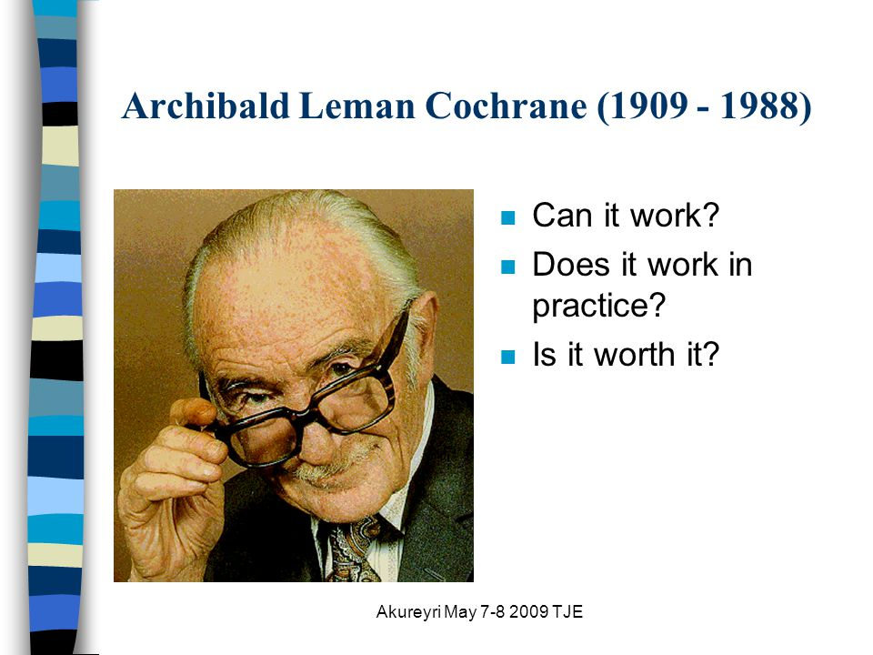 Akureyri May 7-8 2009 TJE Archibald Leman Cochrane (1909 - 1988) n Can it work.