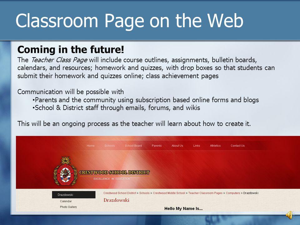 School Web Site www.csdcomets.org www.csdcomets.org