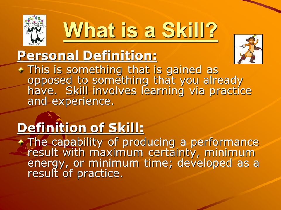 What is a Skill.