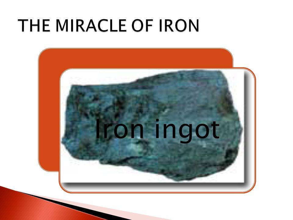 Iron ingot