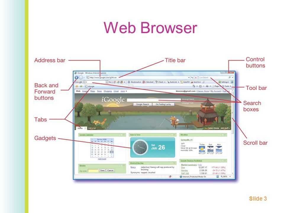 Web Browser Slide 3