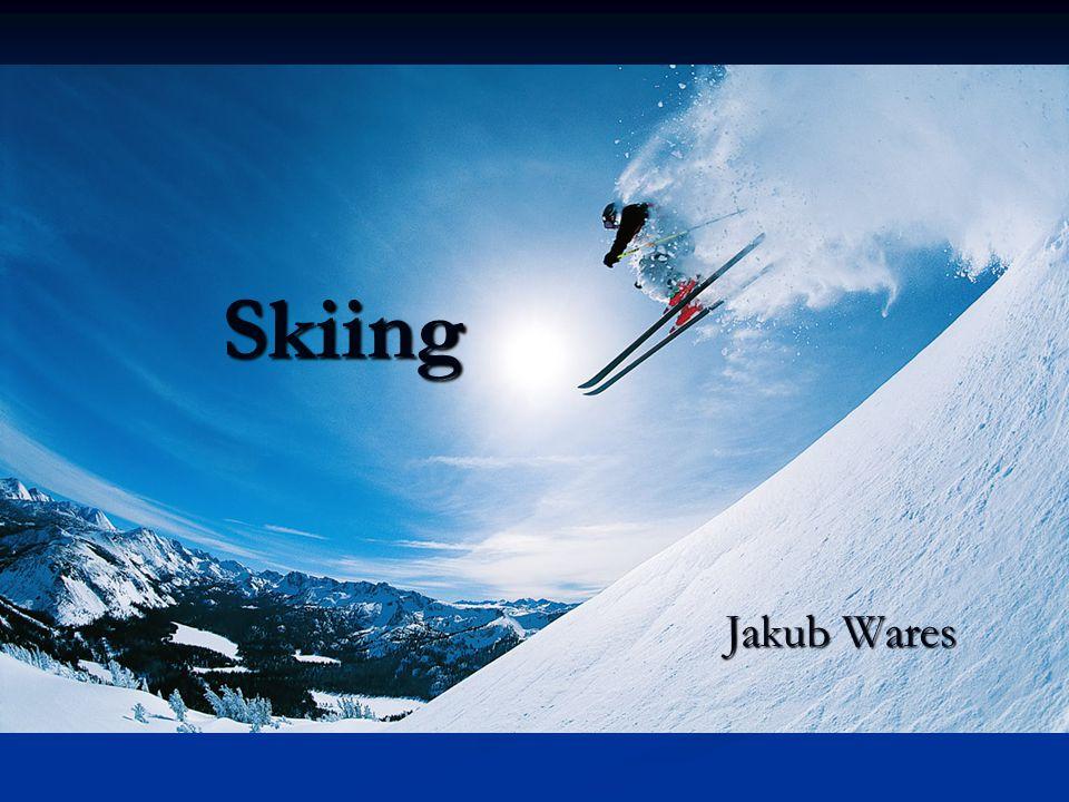 Skiing Jakub Wares