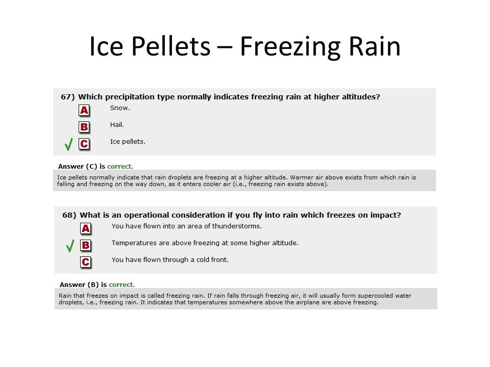 Ice Pellets – Freezing Rain