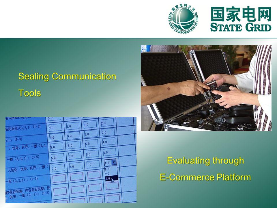 Sealing Communication Tools Evaluating through E-Commerce Platform
