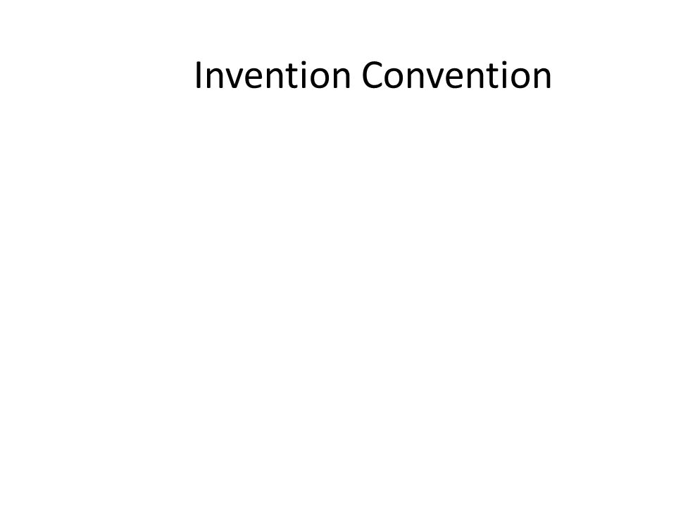 Invention Convention