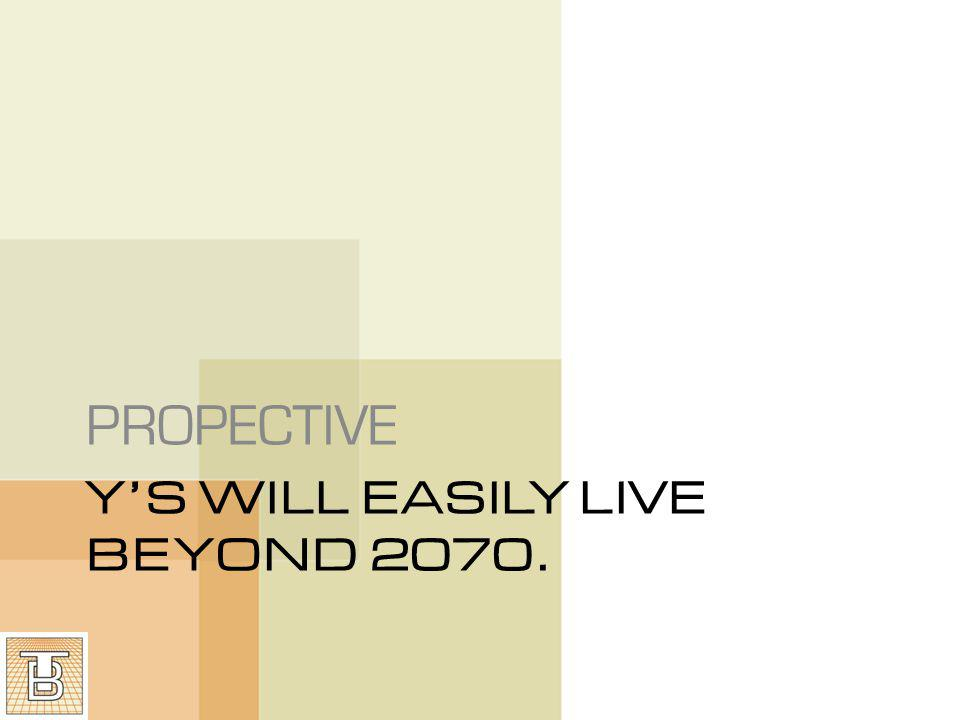 YS WILL EASILY LIVE BEYOND 2070. PROPECTIVE