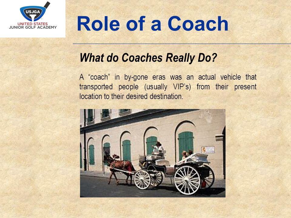 What do Coaches Really Do.