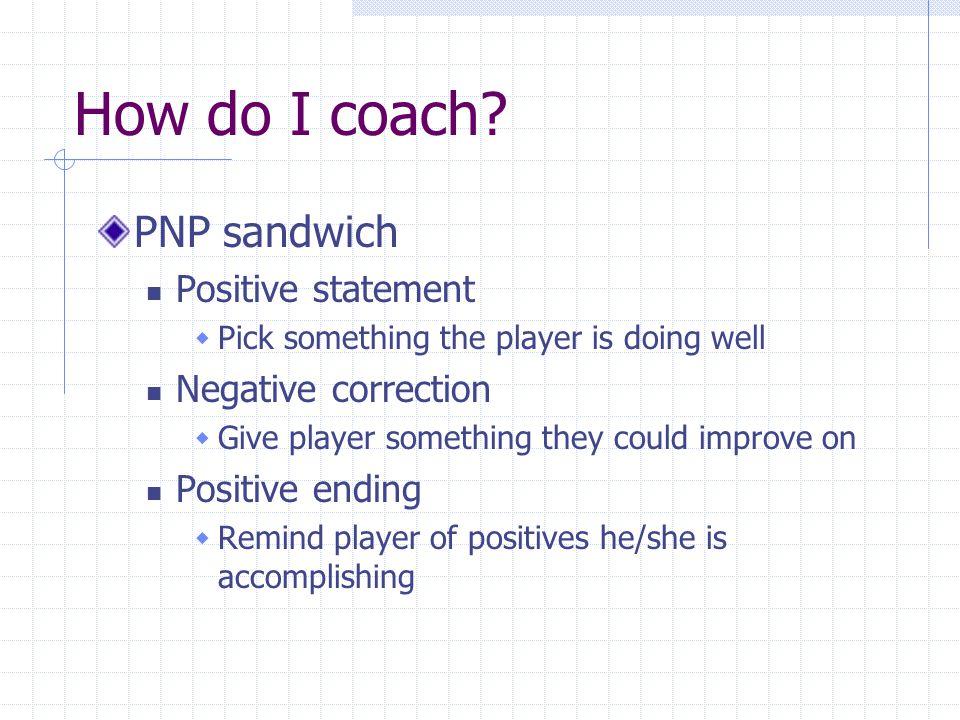 What is Coaching.Coaching is direction. Coaching is correction.