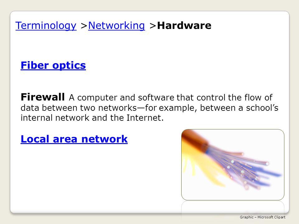 Fiber opticsFiber optics A medium consisting of glass fibers that transmit data using light.
